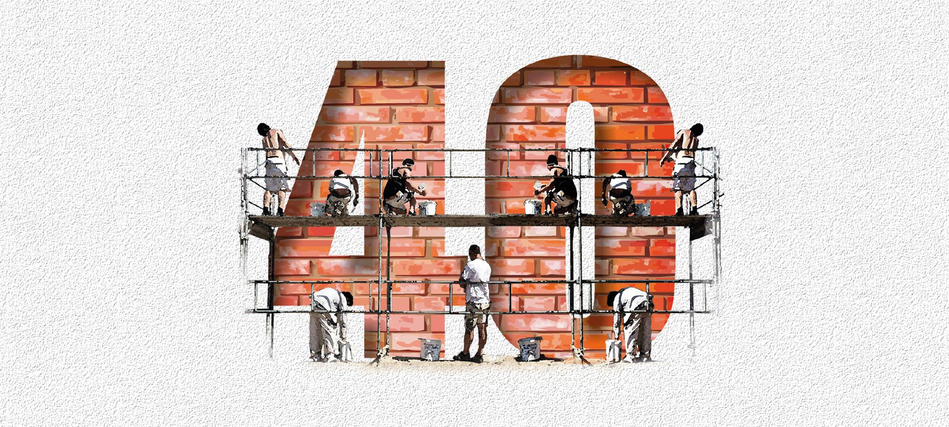 40 Jahre Apold-Bau